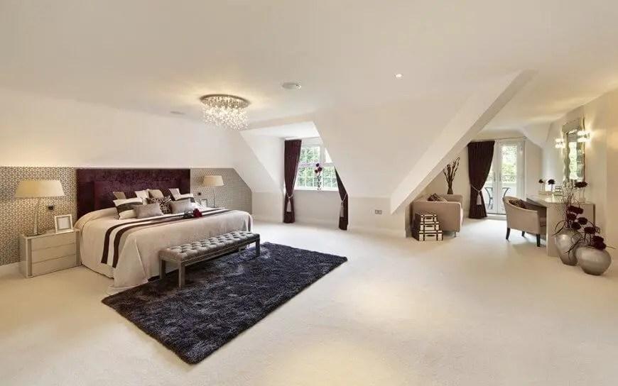 The best design of the carpet floor bedroom that inspiring 48