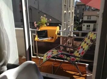 The best mini bar design ideas in balcony apartment 04