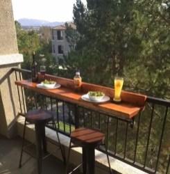The best mini bar design ideas in balcony apartment 05