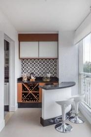 The best mini bar design ideas in balcony apartment 16