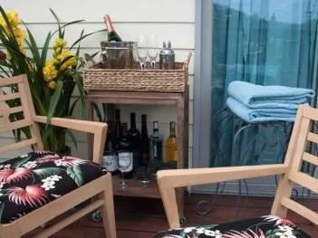 The best mini bar design ideas in balcony apartment 17