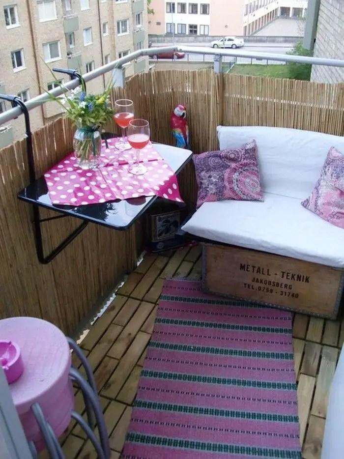 The best mini bar design ideas in balcony apartment 21
