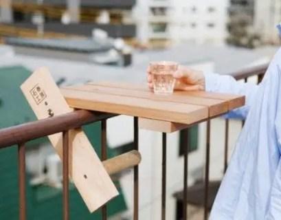 The best mini bar design ideas in balcony apartment 22