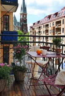 The best mini bar design ideas in balcony apartment 31