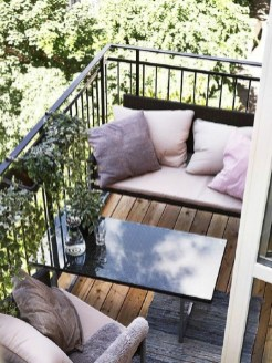 The best mini bar design ideas in balcony apartment 34