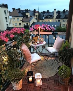 The best mini bar design ideas in balcony apartment 36