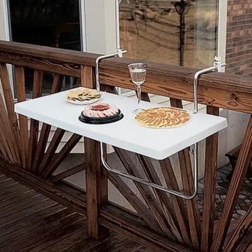 The best mini bar design ideas in balcony apartment 37