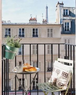 The best mini bar design ideas in balcony apartment 38