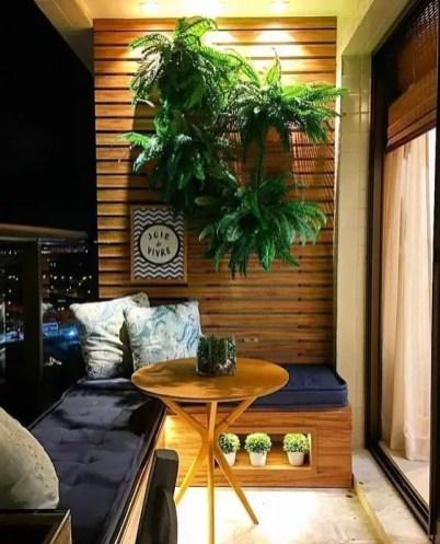 The best mini bar design ideas in balcony apartment 42