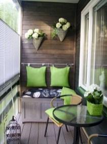 The best mini bar design ideas in balcony apartment 43
