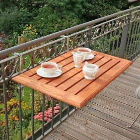 The best mini bar design ideas in balcony apartment 46