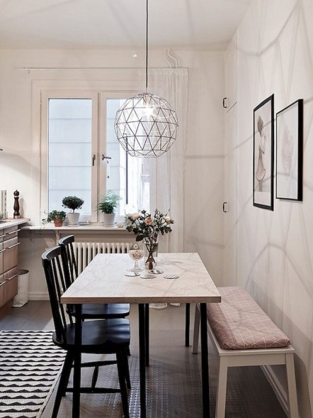 The best small dining room design ideas that you can try in your homel 03
