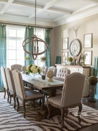 The best small dining room design ideas that you can try in your homel 07