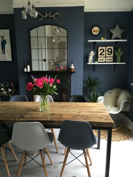 The best small dining room design ideas that you can try in your homel 12