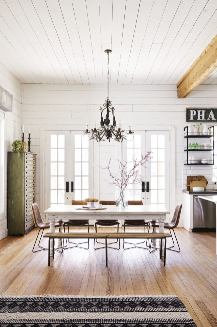 The best small dining room design ideas that you can try in your homel 31