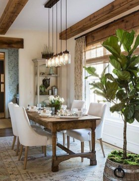 The best small dining room design ideas that you can try in your homel 36