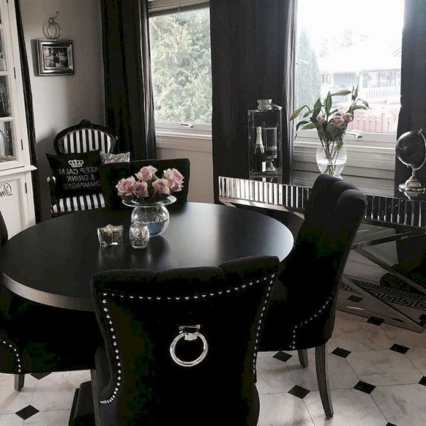 The best small dining room design ideas that you can try in your homel 42