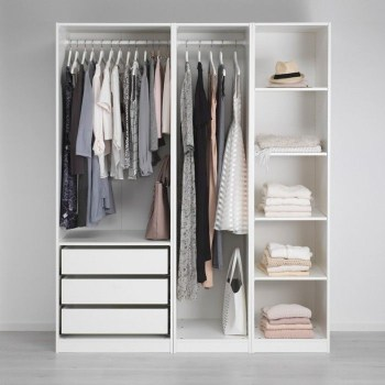Wardrobe design ideas that you can try in your home 04