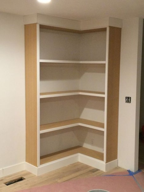 Wooden cabinet design ideas for book diy that you can make in your home 04