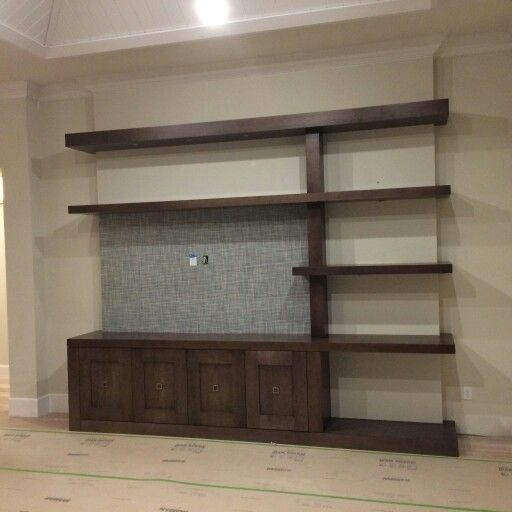 Wooden cabinet design ideas for book diy that you can make in your home 09