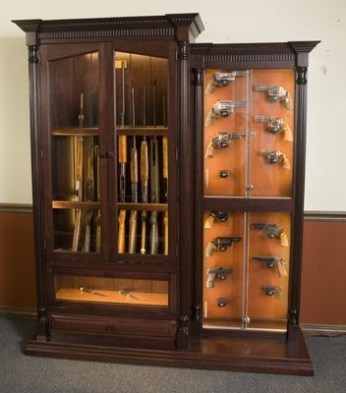 Wooden cabinet design ideas for book diy that you can make in your home 15