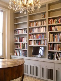 Wooden cabinet design ideas for book diy that you can make in your home 24