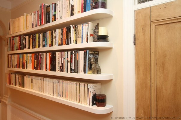 Wooden cabinet design ideas for book diy that you can make in your home 27