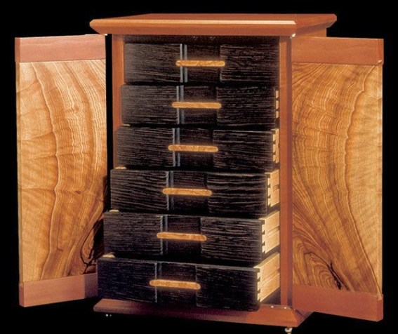 Wooden cabinet design ideas for book diy that you can make in your home 31