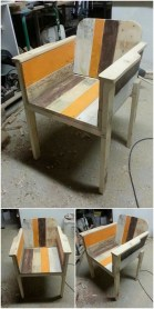 Diy chair pallet design ideas taht you can try 45