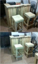 Diy chair pallet design ideas taht you can try 55