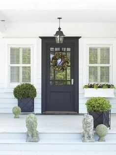 Exterior decoration ideas with flower in window 02