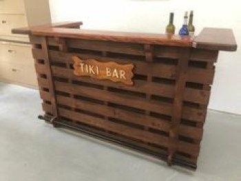 Inspiring pallet mini bar design ideas 25
