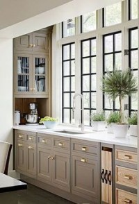 Wood kitchenset design ideas that you can try 01