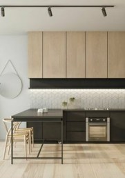 Wood kitchenset design ideas that you can try 48