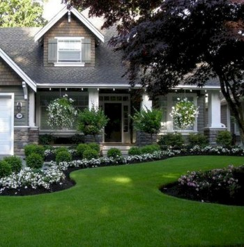 Front yard design ideas on a budget 03