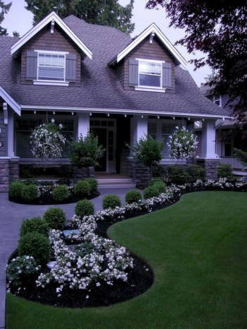 Front yard design ideas on a budget 15