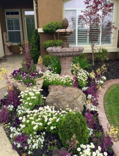 Front yard design ideas on a budget 48