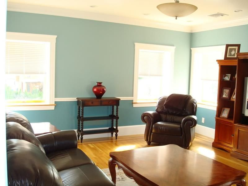Living room gray wall color design ideas 35