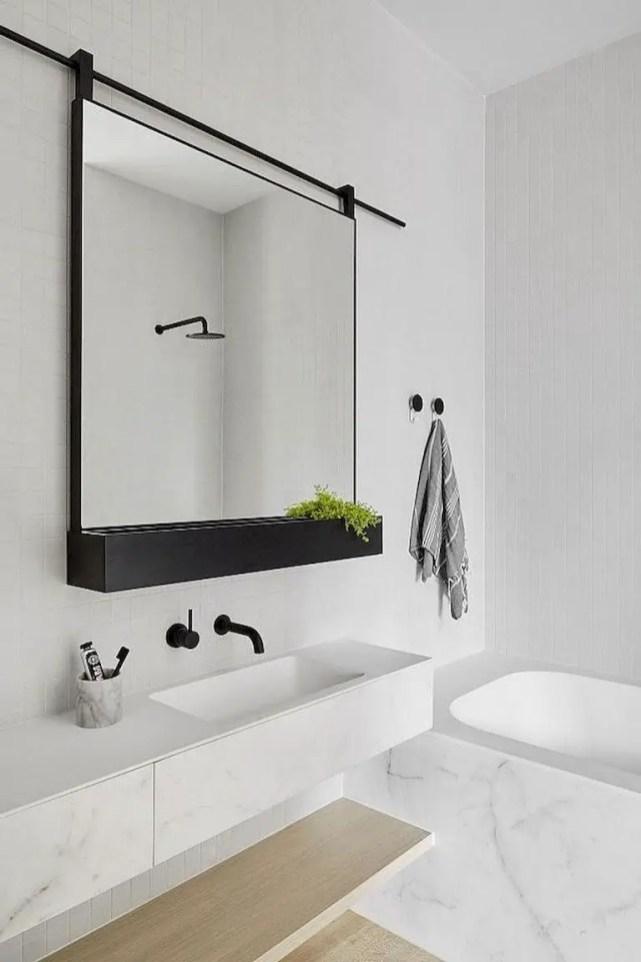 Minimalist bathroom design ideas 15
