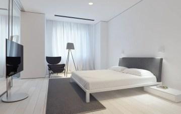 Modern minimalist bedroom design ideas 21