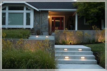 Modern&minimalist frontyard desgin ideas 26