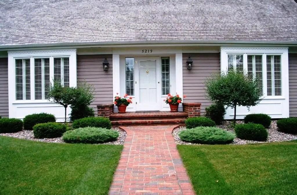 Modern&minimalist frontyard desgin ideas 31