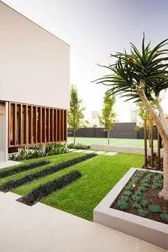 Modern&minimalist frontyard desgin ideas 43
