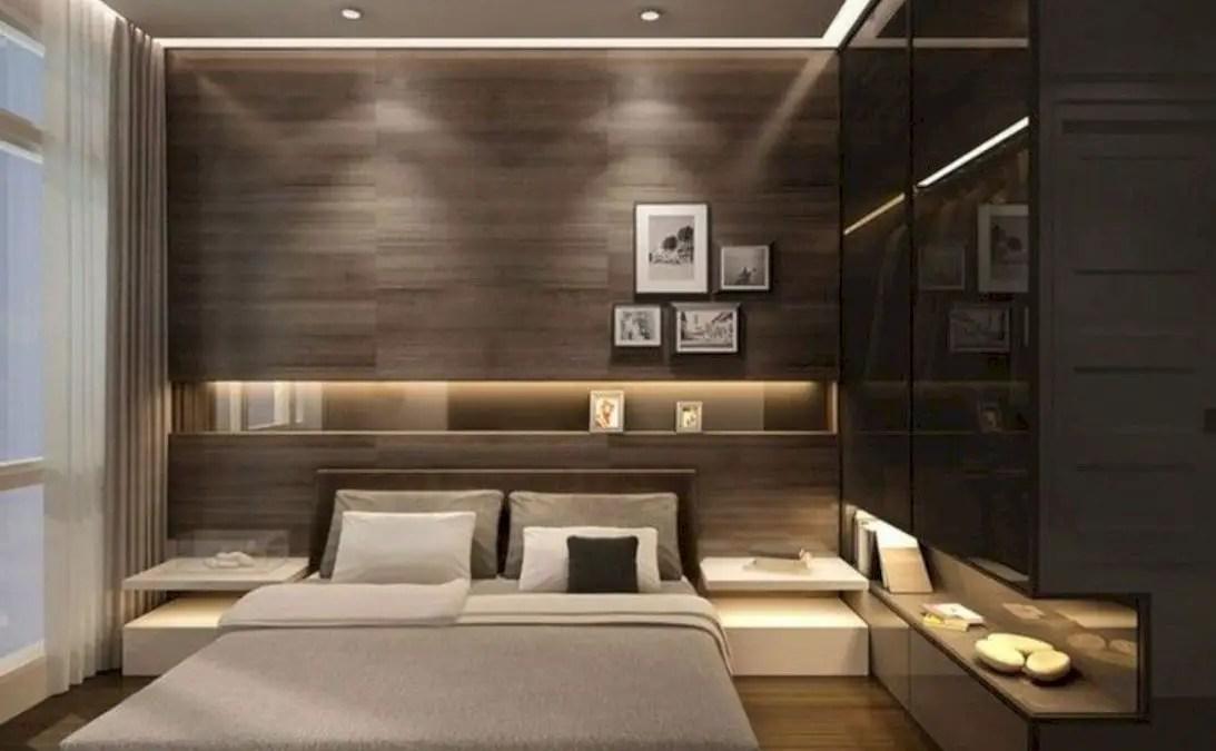 54 Wall Bedroom Design Ideas That Unique