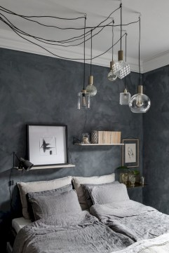 Wall bedroom design ideas that unique 40