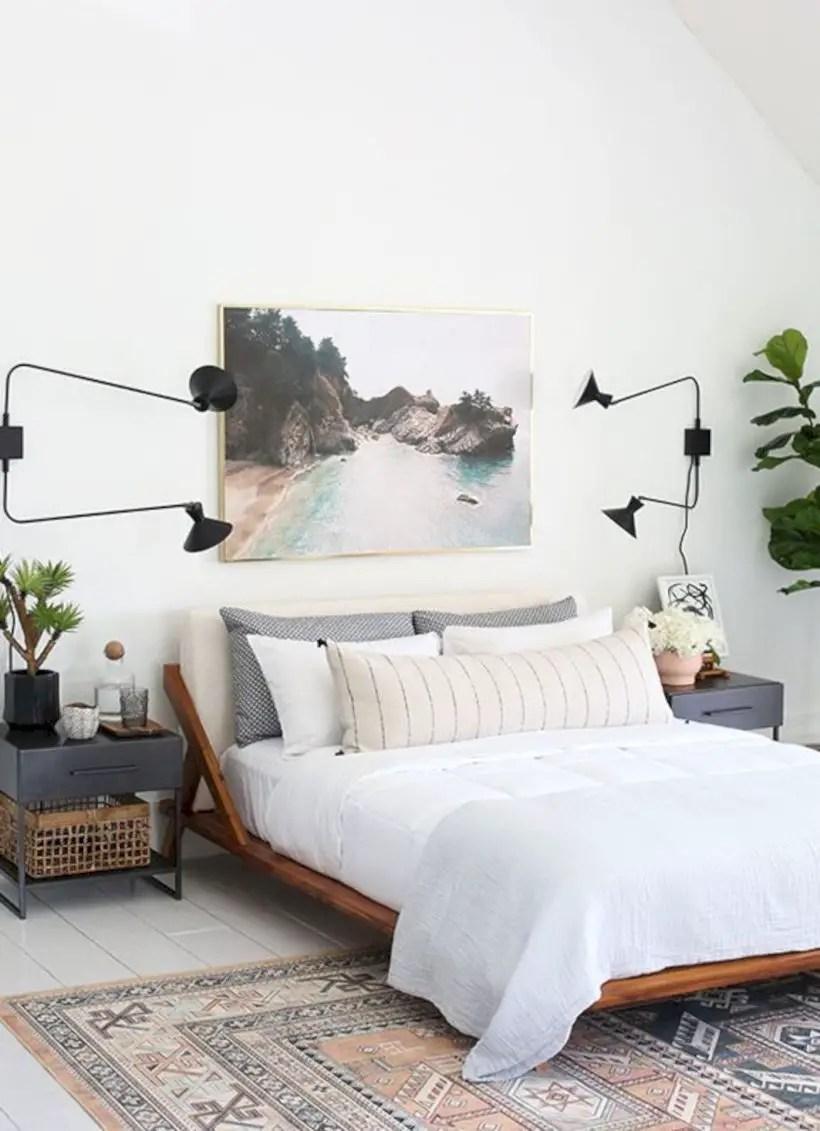 Wall bedroom design ideas that unique 46