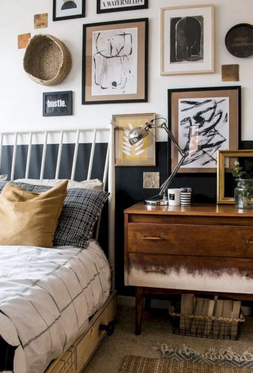 Wall bedroom design ideas that unique 49