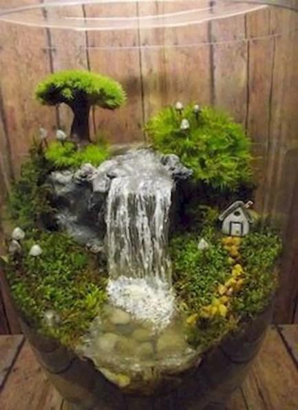 Indoor water garden ideas that fresh your room 18