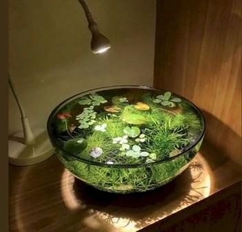 Indoor water garden ideas that fresh your room 35