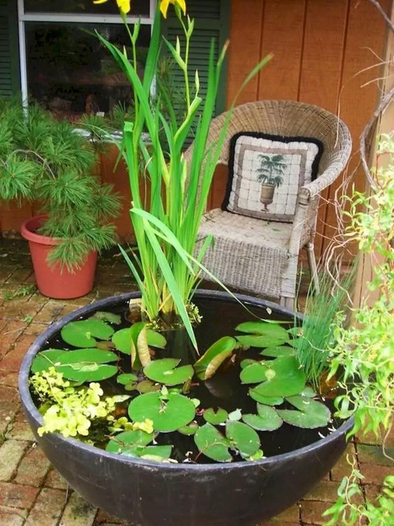 Indoor water garden ideas that fresh your room 46